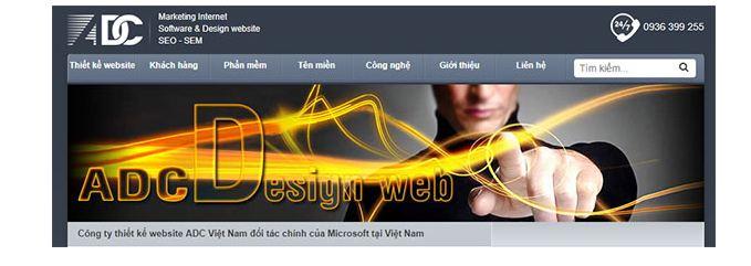 Công ty lập trình website adc