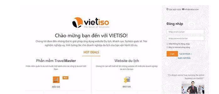 Công ty lập trình website vietiso