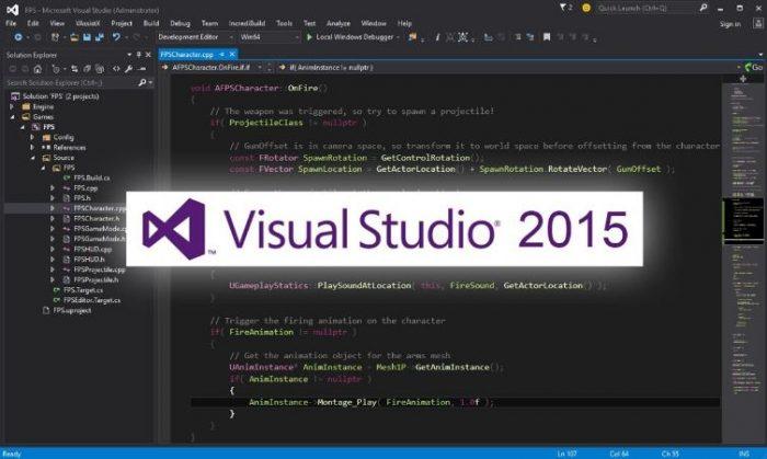 Visual Studio là gì? Visual studio 2015