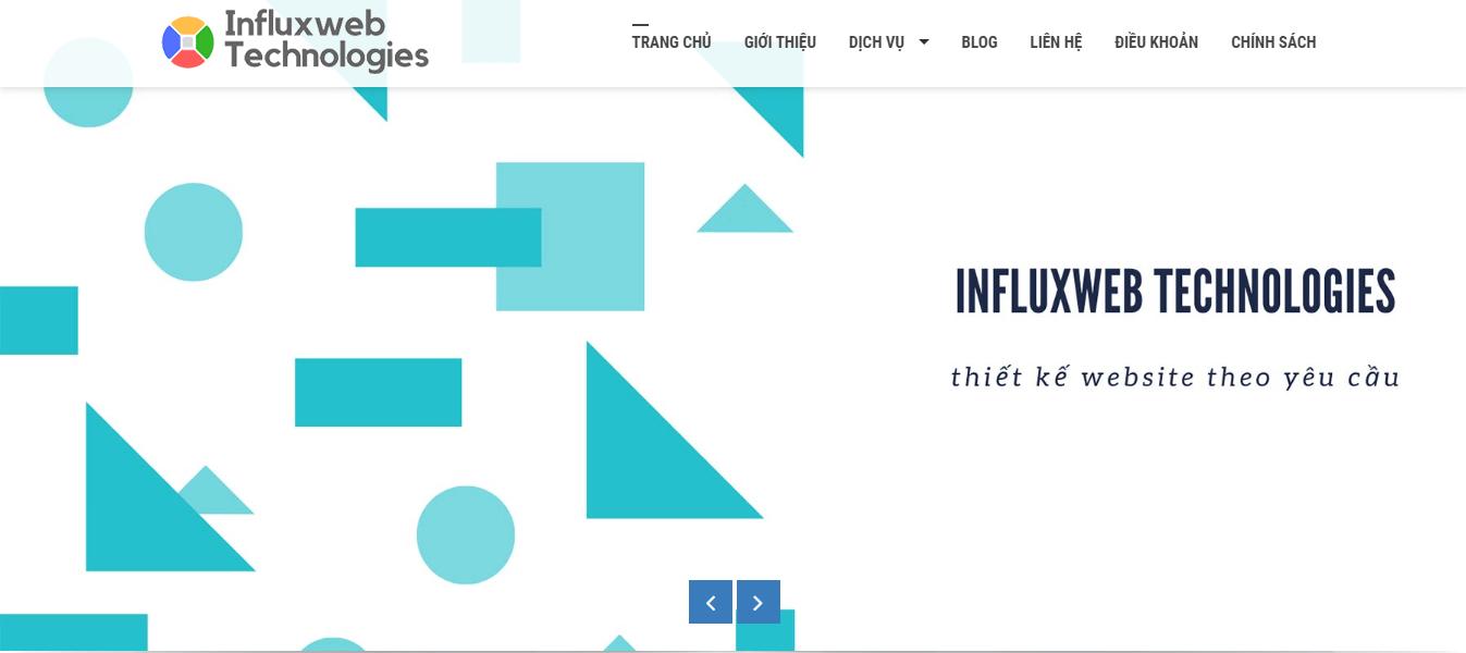 Website influxwebtechnologies