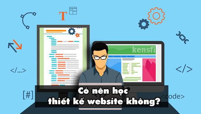 Lý do nên học thiết kế website.